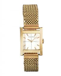 JAEGER LECOULTRE 18CT GOLD WRIST WATCH at Ross's Auctions