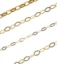 FOUR 9CT GOLD CHAINS at Ross's Auctions