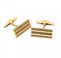 18CT GOLD CUFFLINKS at Ross's Jewellery Auctions
