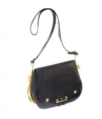 HERMES BLACK OSTRICH LEATHER HANDBAG at Ross's Auctions