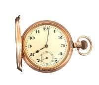 9CT GOLD POCKET WATCH at Ross's Auctions