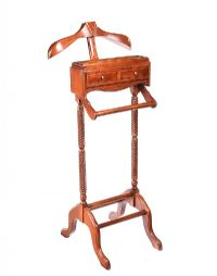 GENT'S MAHOGANY VALET STAND at Ross's Auctions