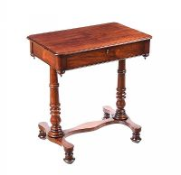 WILLIAM IV LAMP TABLE at Ross's Auctions