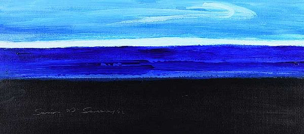 SHORELINE BOG II by Sean McSweeney HRHA at Ross's Online Art Auctions