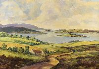 FERMANAGH LAKES by George D. Livingston at Ross's Auctions