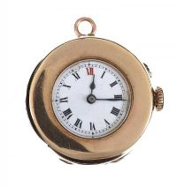 9CT GOLD CASED FOB WATCH at Ross's Jewellery Auctions