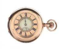 GOLD-TONE POCKET WATCH at Ross's Auctions