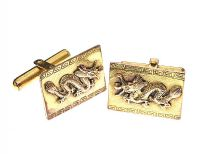 14CT GOLD CUFFLINKS at Ross's Jewellery Auctions