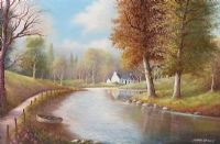 QUIET WATERS, CARRICKREAGH, COUNTY FERMANAGH by Alfred Stewart at Ross's Auctions