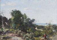 IN FRANCE by Sir Frances Hughes Stanton at Ross's Auctions