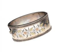 VICTORIAN SILVER BANGLE at Ross's Auctions