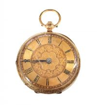 18CT GOLD POCKET WATCH at Ross's Auctions