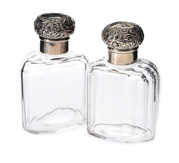 PAIR OF MAPPIN AND WEBB COLOGNE BOTTLES at Ross's Online Art Auctions