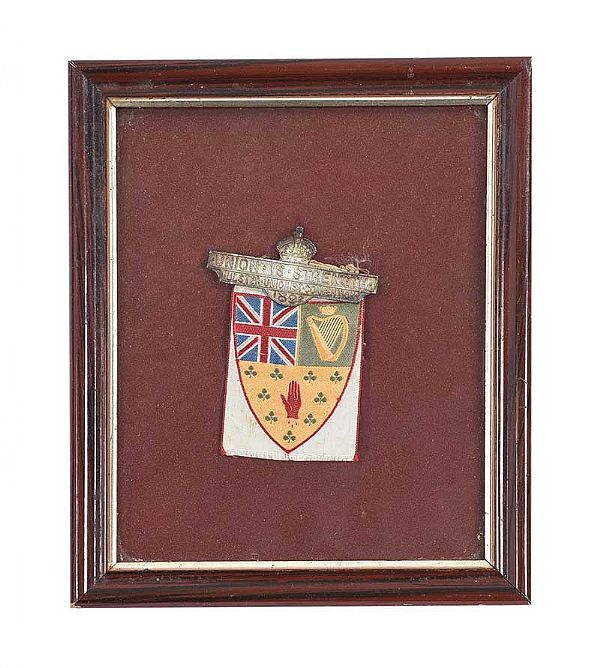 ULSTER UNIONIST  CONVENTION BADGE 1892 at Ross's Online Art Auctions