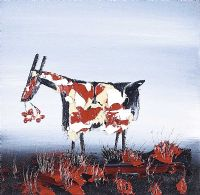 EVENING GOAT by Michael Smyth at Ross's Auctions
