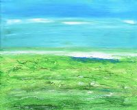 GREEN FIELDS, SLIGO by Sean McSweeney HRHA at Ross's Auctions
