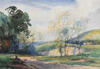 QUARRY NEAR NEWRY, COUNTY ARMAGH by Frank McKelvey RHA RUA at Ross's Auctions