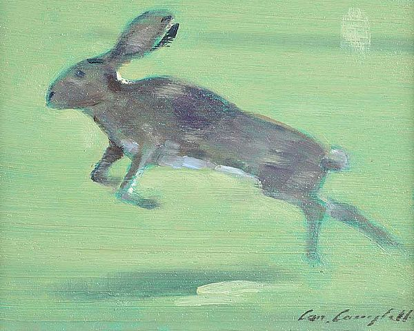 IRISH HARE by Con Campbell at Ross's Online Art Auctions