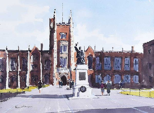 QUEEN'S UNIVERSITY BELFAST by Kenny Hayes at Ross's Online Art Auctions