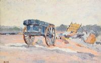 THE HAY CART by Estella Frances Solomon at Ross's Auctions
