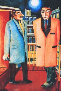 THE DOORMEN by Graham Knuttel at Ross's Auctions