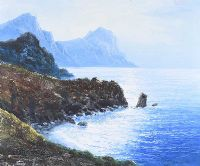 ON THE COAST, PLAYA BLANCA by Spanish School at Ross's Auctions
