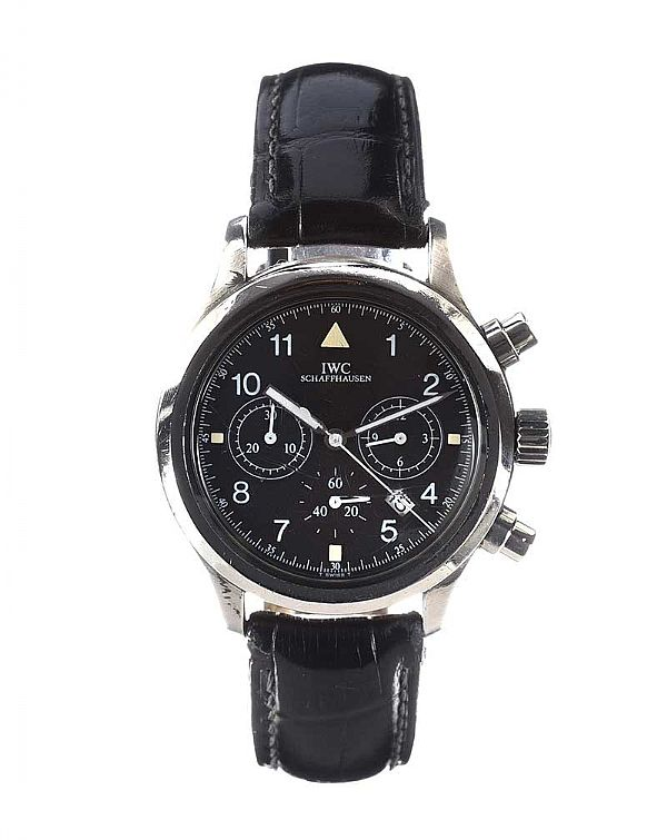 IWC STAINLESS STEEL GENT'S WRIST WATCH at Ross's Online Art Auctions