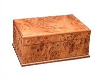 AGRESTI BURR WALNUT LADY'S JEWELLERY BOX at Ross's Auctions