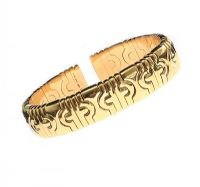 BVLGARI 18CT GOLD 'PARENTESI'  BANGLE at Ross's Jewellery Auctions