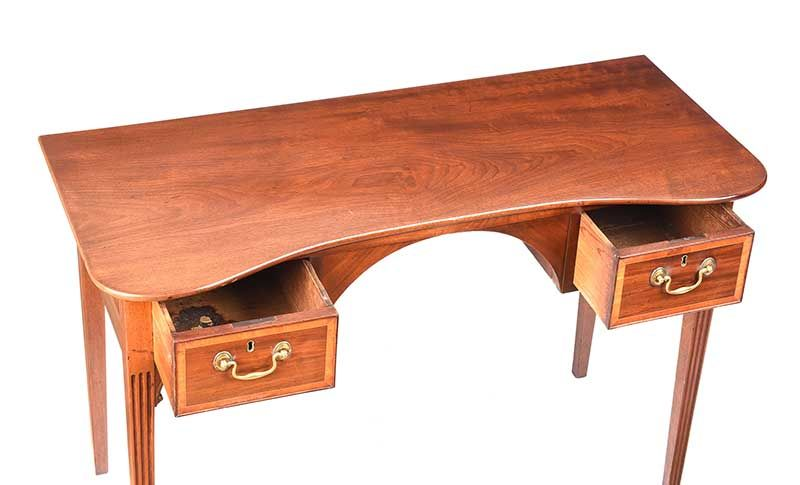 GEORGIAN MAHOGANY BELFAST TABLE at Ross's Online Art Auctions
