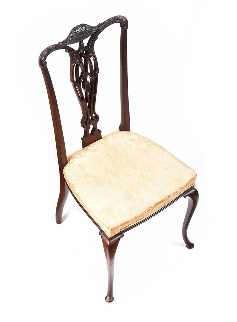 PAIR OF SHOOLBRED OCCASIONAL CHAIRS at Ross's Online Art Auctions