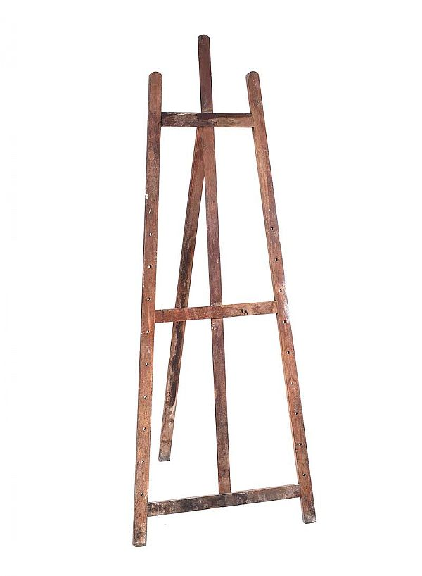 VINTAGE EASEL at Ross's Online Art Auctions