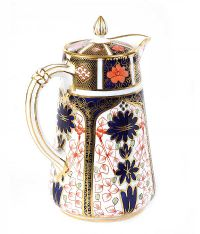 ROYAL CROWN DERBY COFFEE POT at Ross's Auctions