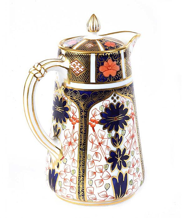 ROYAL CROWN DERBY COFFEE POT at Ross's Online Art Auctions