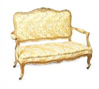 VICTORIAN GILT SETTEE at Ross's Auctions