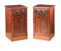 PAIR OF WILLIAM IV BEDSIDE PEDESTALS at Ross's Auctions