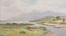 MURLOUGH BAY, DUNDRUM by Joseph William  Carey RUA at Ross's Auctions
