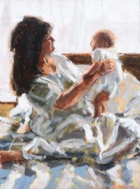 MOTHER & BABY by Rowland Davidson at Ross's Auctions