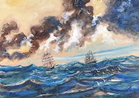 A STORM BLOWING IN by Markey Robinson at Ross's Auctions