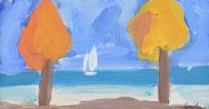 SAILING CLOSE TO THE SHORE by Markey Robinson at Ross's Auctions