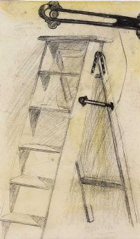 THE STEP LADDERS by William Conor RHA RUA at Ross's Auctions