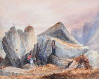 KERRY CASTLE by Andrew Nicholl RHA at Ross's Auctions