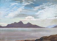 CLEW BAY, CONNEMARA by Kitty Wilmer O'Brien RHA at Ross's Auctions