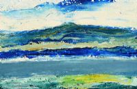 LOUGH WITH DISTANT MOUNTAINS by Daniel O'Neill at Ross's Auctions
