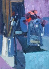 FLOWERS & BRUSHES by Brian Ballard RUA at Ross's Auctions