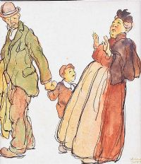 THE GRANDMOTHER by William Conor RHA RUA at Ross's Auctions