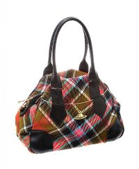 VIVIENNE WESTWOOD TARTAN HANDBAG at Ross's Jewellery Auctions