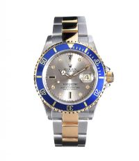 ROLEX 'SUBMARINER' 18CT GOLD AND STAINLESS STEEL GENT'S WRIST WATCH at Ross's Online Art Auctions