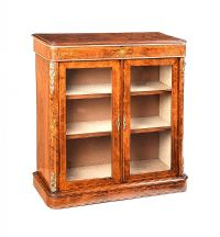 VICTORIAN WALNUT PIER CABINET at Ross's Online Art Auctions