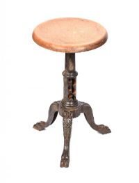CAST IRON STOOL at Ross's Auctions